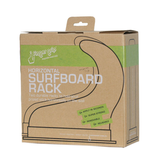 Horizontal Surfboard Rack Packaging Front